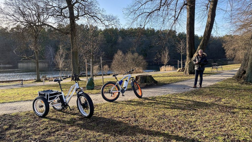 Cykla i Hagaparken
