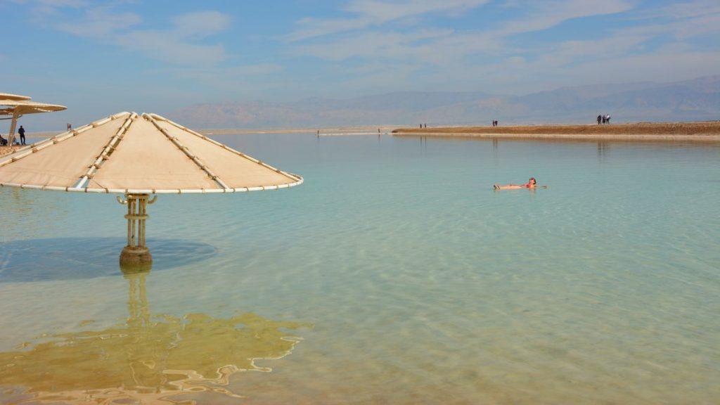 Bra flyt i Döda havet