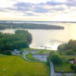 Fricamping vid sjön Erken och Norr Malma naturreservat