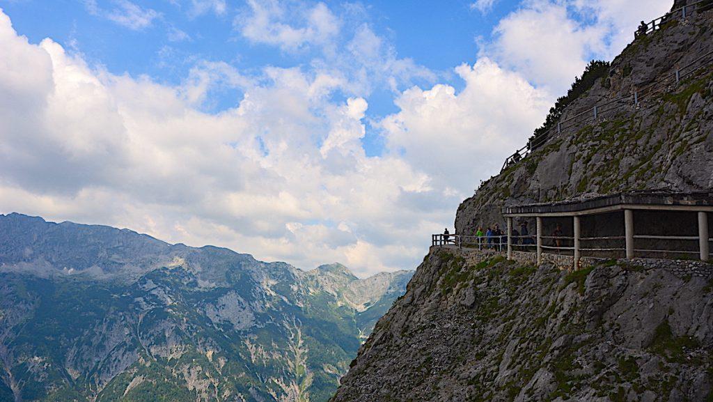 Besöka isgrotta i österrike
