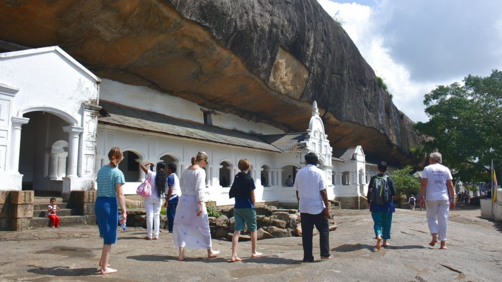 Grottempel i Dambulla