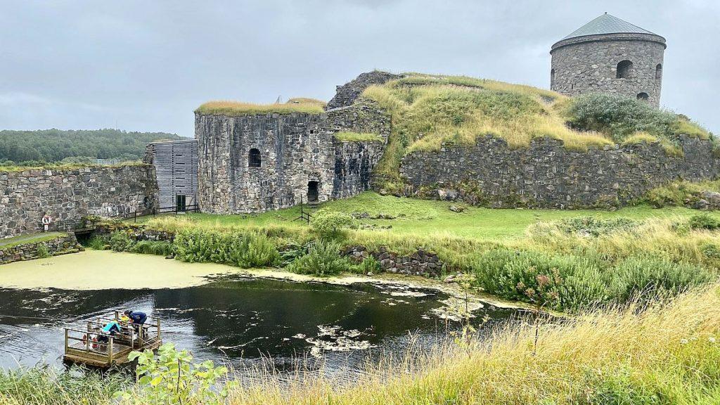 Linfärja vid Bohus fästning