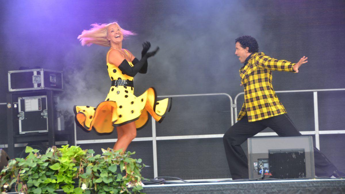 Dansshow på Stora Nolia i Piteå 2016
