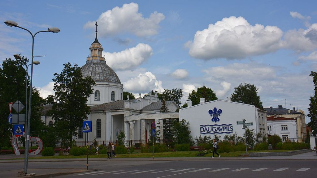 Daugavpils i Lettland