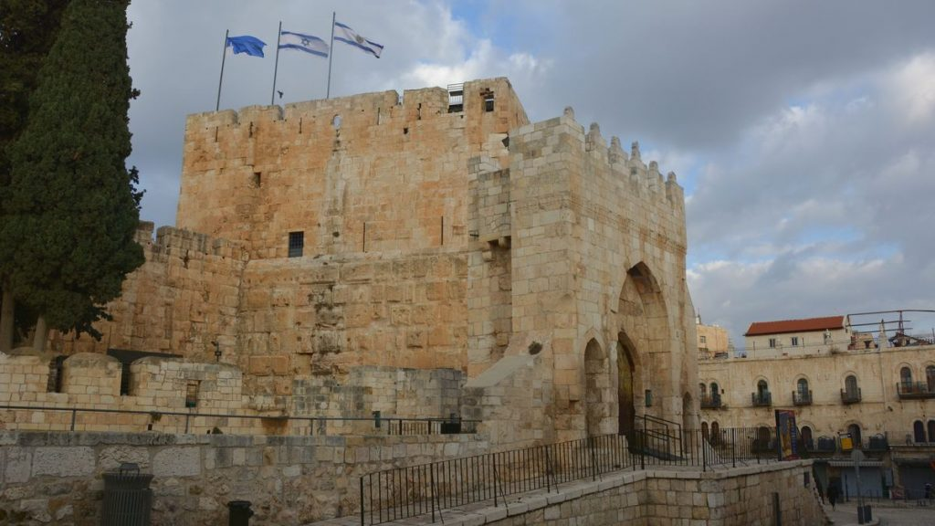 Sevärdheter i Jerusalem - Davids torn