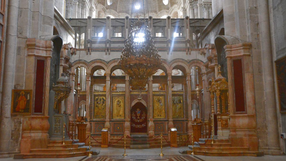 Den heliga gravens kyrka Israel