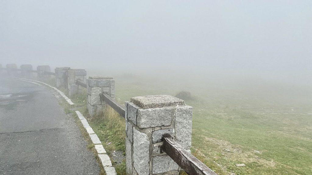 Dimma på berget Praděd