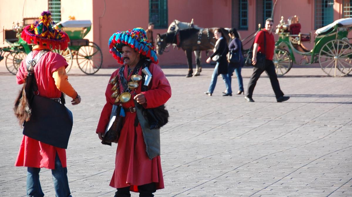 Djema el Fna Marrakech Marocko