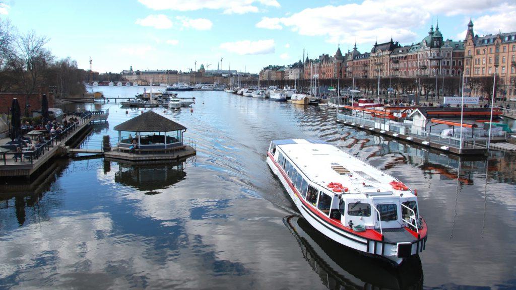 Sommar i Stockholm: Djurgårdsbron