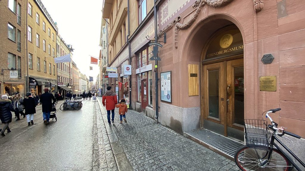Strindbergs hem - Drottninggatan