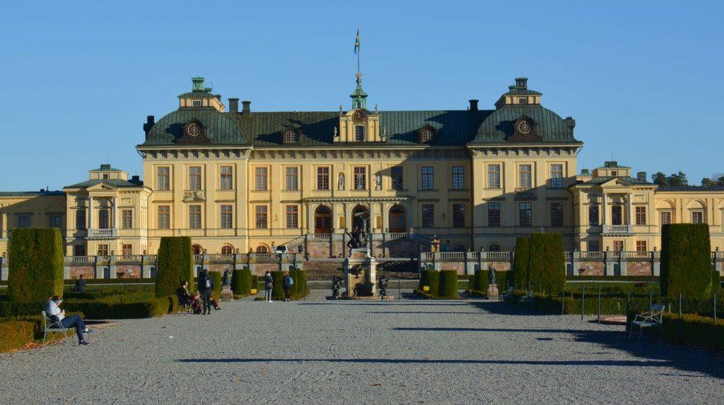 Drottningholms slott i Stockholm