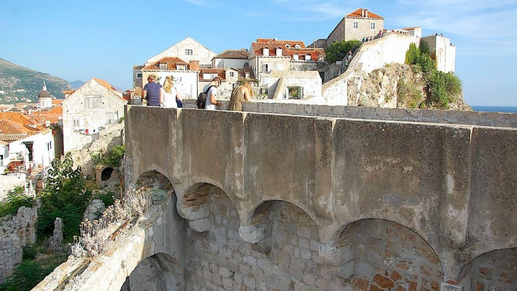 Dubrovniks stadsmur