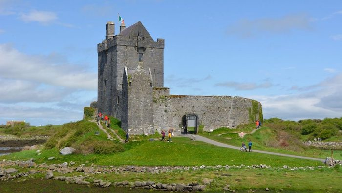 Dunguaire Castle på Irland