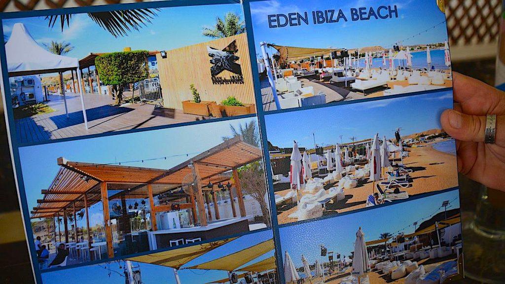Stränder i Sharm el Sheikh - Eden Ibiza beach