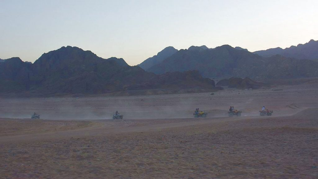 Göra i Hurghada - ökensafari