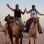 Ökensafari i Sharm el Sheikh med fyrhjuling och kamel