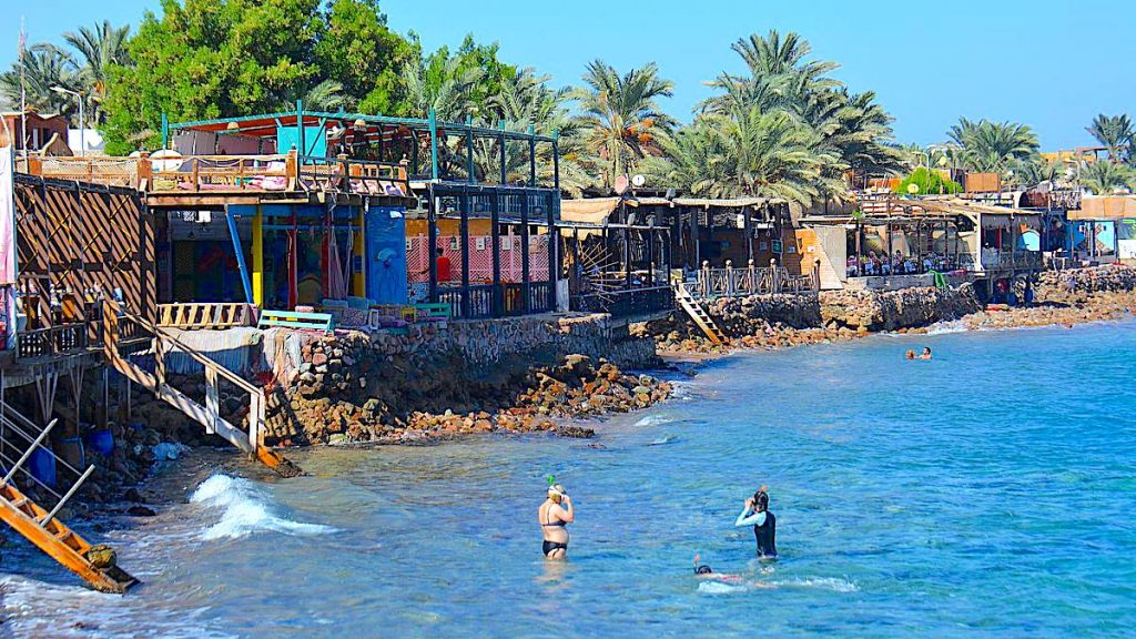 Dahab i Egypten