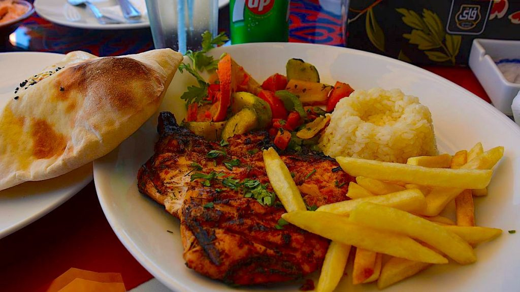 Mat på restaurang