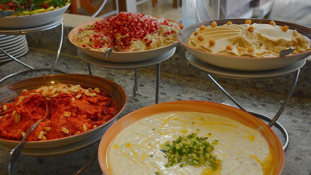 Mat i Egypten - röror