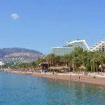 Bad och shopping i Eilat