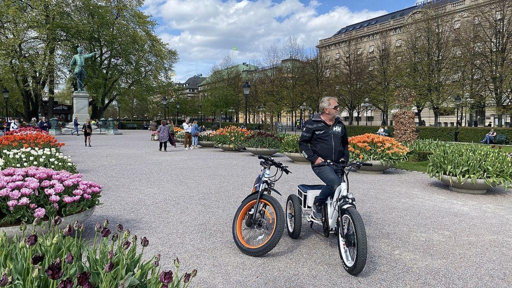 Kungsträdgården i Stockholm, platsen för palatset Makalös