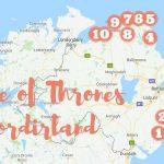 10 inspelningsplatser för Game of Thrones i Nordirland