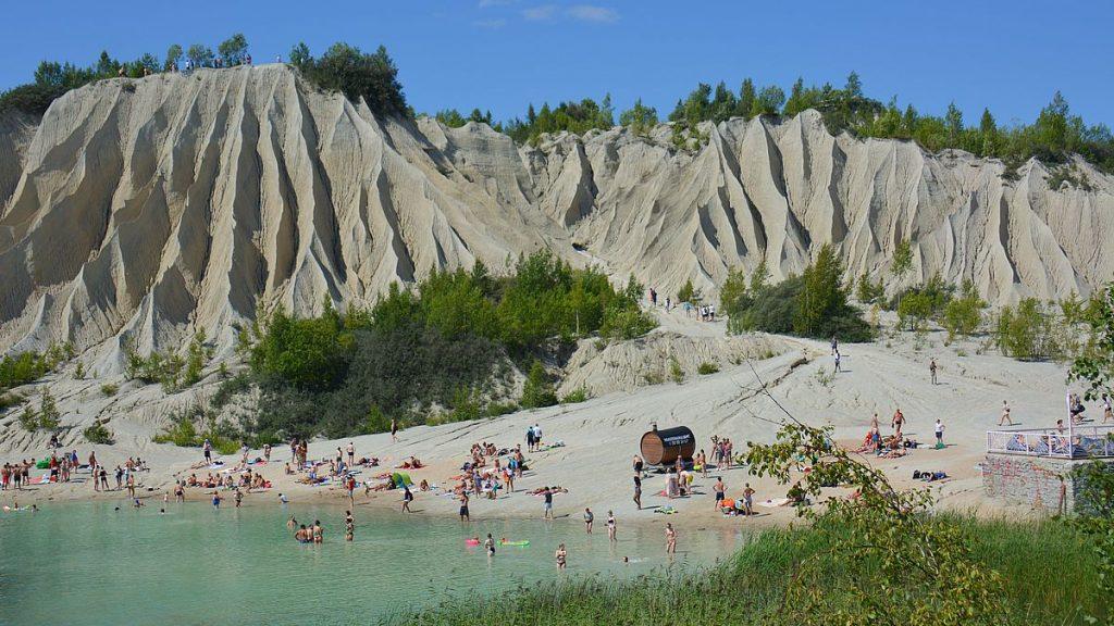 Rummu stenbrott i Estland