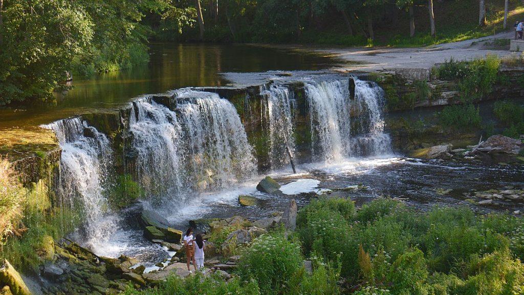 Keila vattenfall i Estland