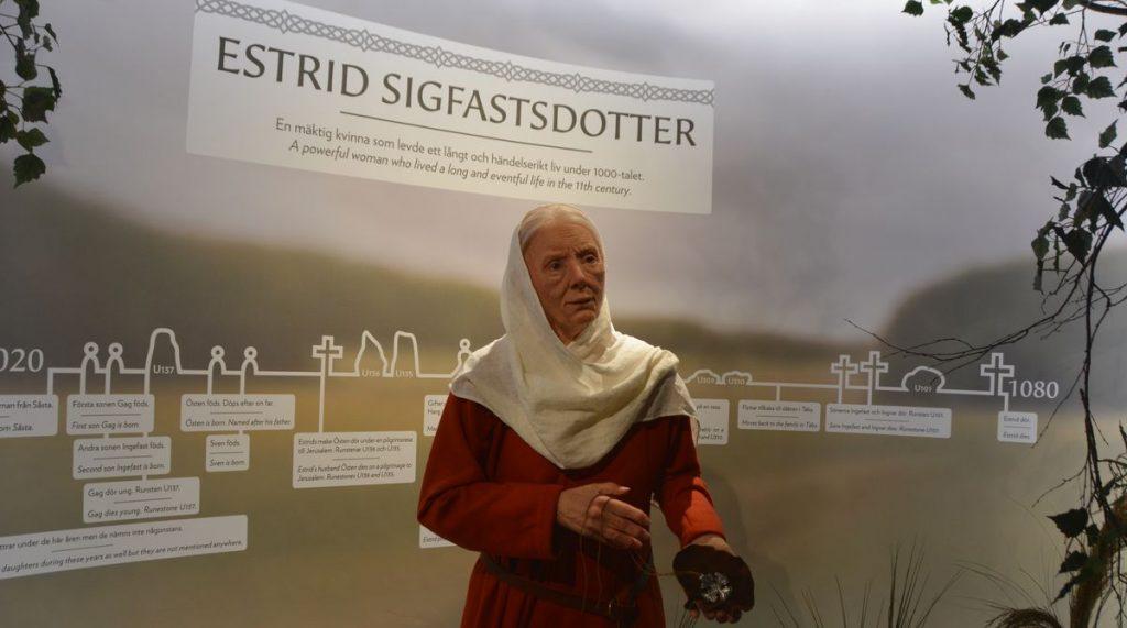 Estrid Sigfastsdotter på Vikingaliv