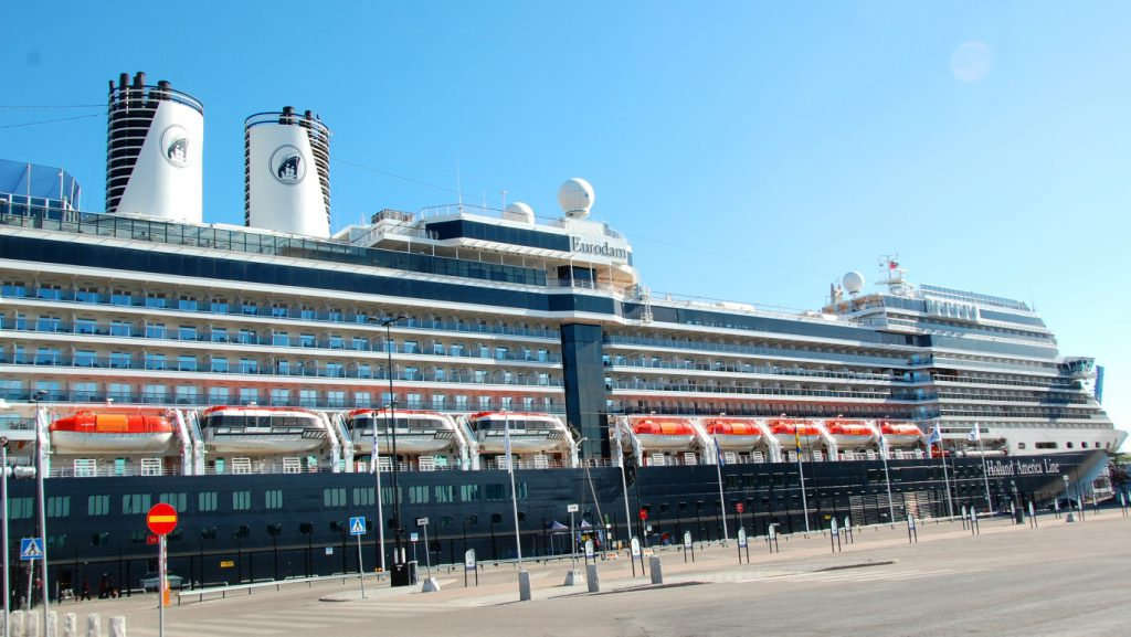 Kryssningsfartyget Eurodam