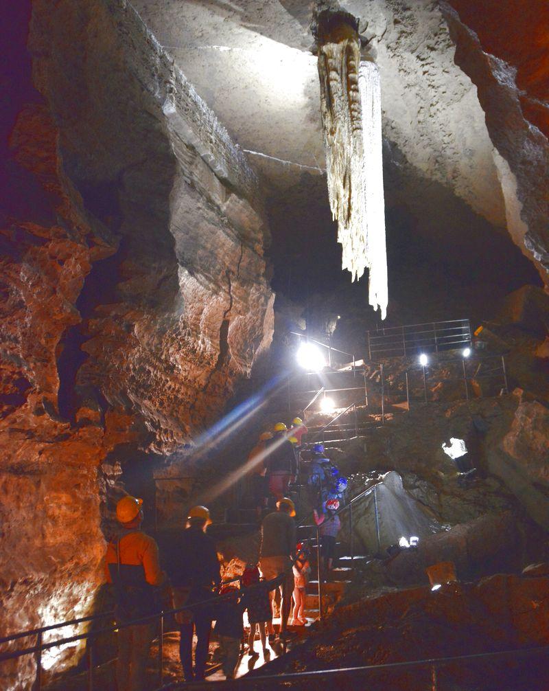 Europas största stalaktit