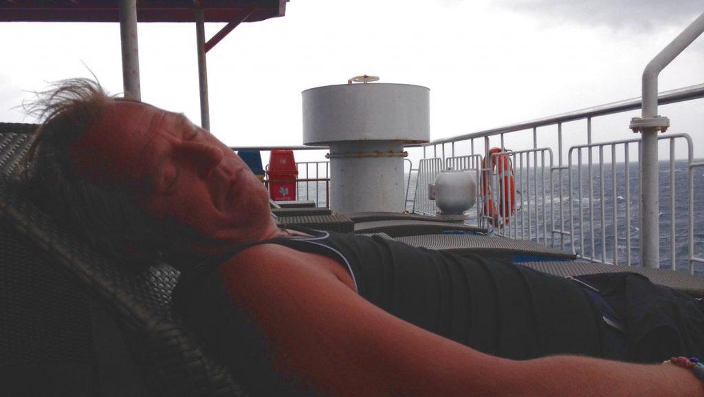 Båtresa till Manila