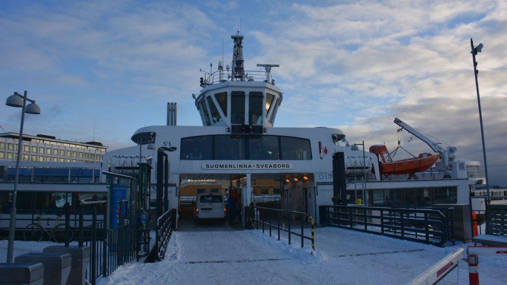 båt till Sveaborg