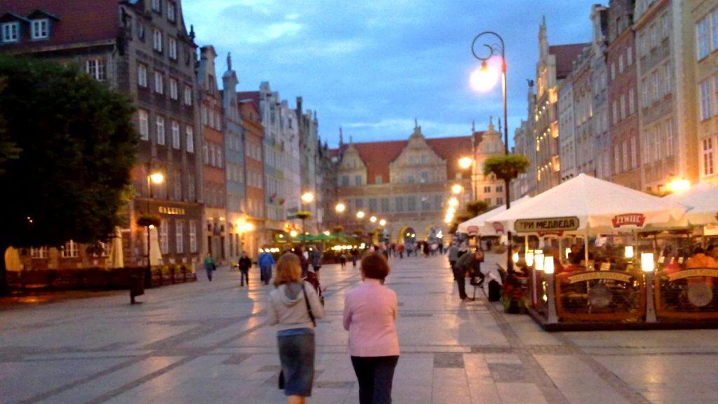 Födelsedag i Gdansk
