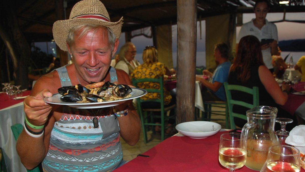 Födelsedag på Sardinien