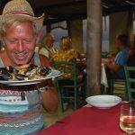 Födelsedagsfirande på Sardinien