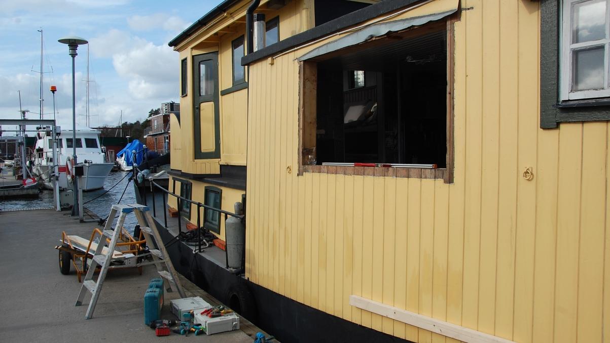Fönsterbyte husbåt