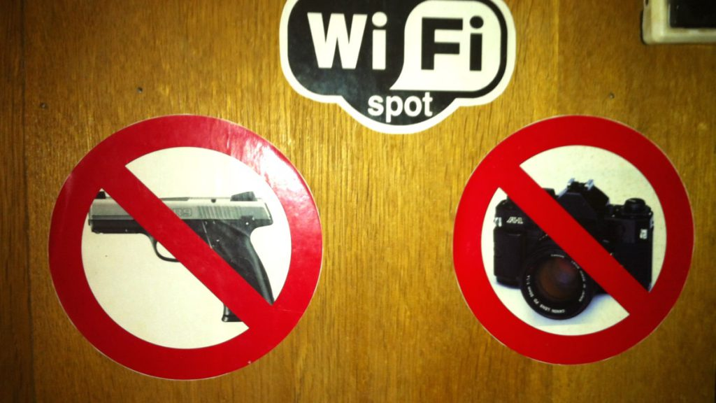 Förbud mot vapen