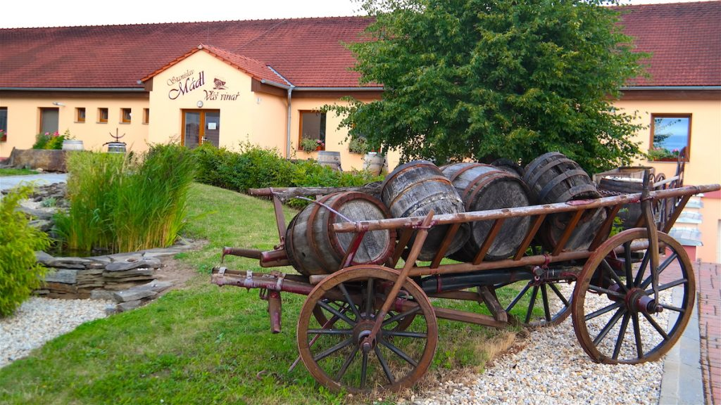 Vinregion i Moravia