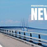 Deckare i solstolen, rekord för Öresundsbron och världens värsta flygplatser