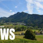 Hyra husbil på camping och tågresor till Schweiz
