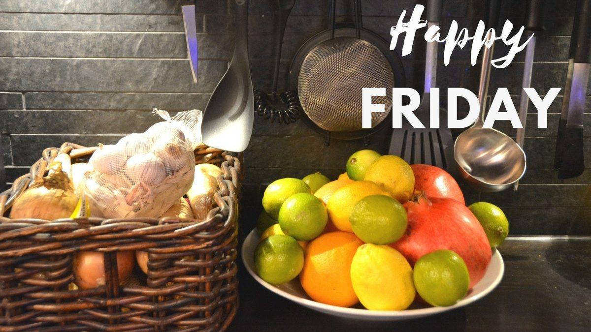 Happy Friday med veckans bästa recept
