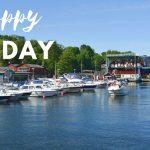 Sommarväder, båtliv och (nästan för) ljust och varmt