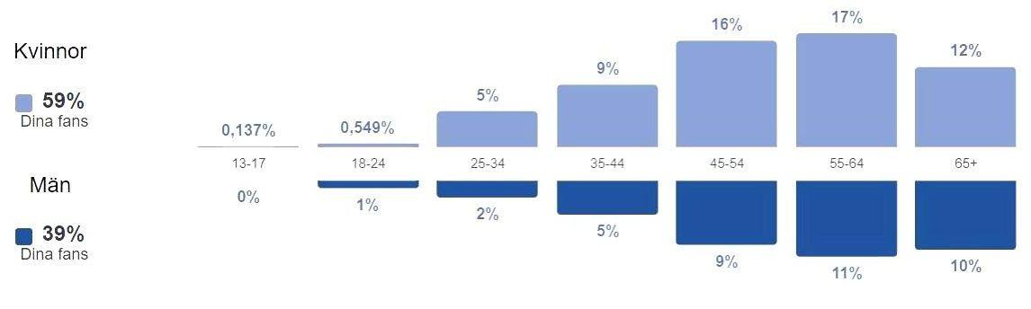 Facebook statistik