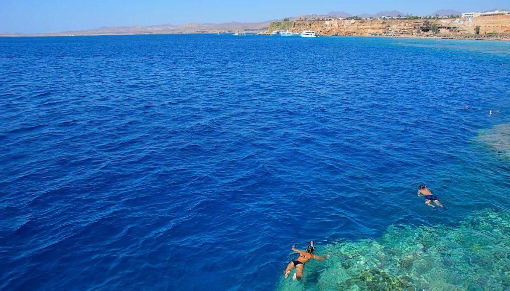 Stränder i Sharm el Sheikh - snorkla