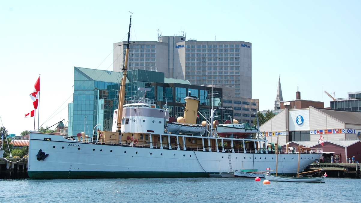 Fartyg Halifax hamn