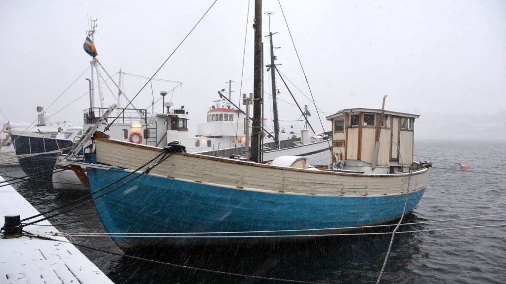 Fartyg Kungsholmen, skeppen vid Norr Mälarstrand