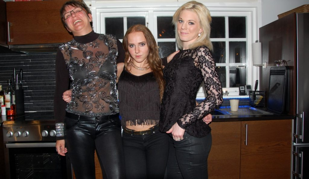 Helena, Felicia och Alexandra