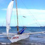 Segeltur i hårt väder, Filippinerna