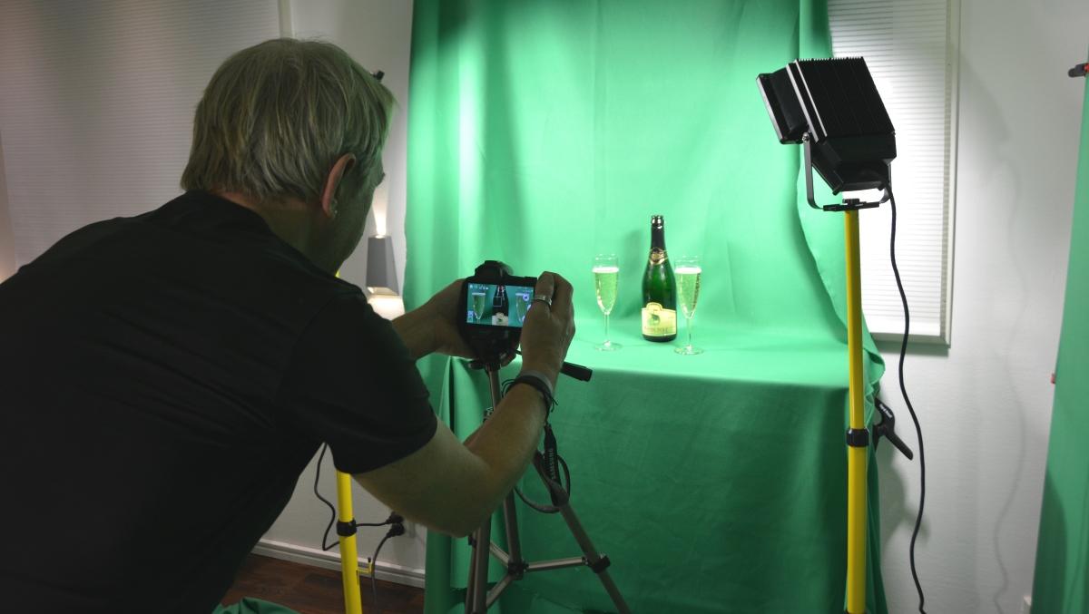 Filma med greenscreen